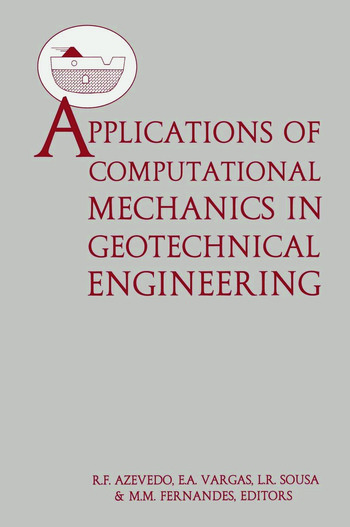 Applications of Computational Mechanics in Geotechnical Engineering book cover