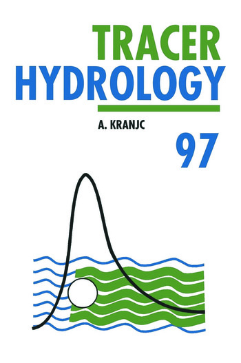 Tracer Hydrology 97 book cover