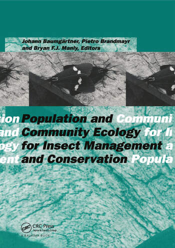 Population and Community Ecology for Insect Management and Conservation book cover