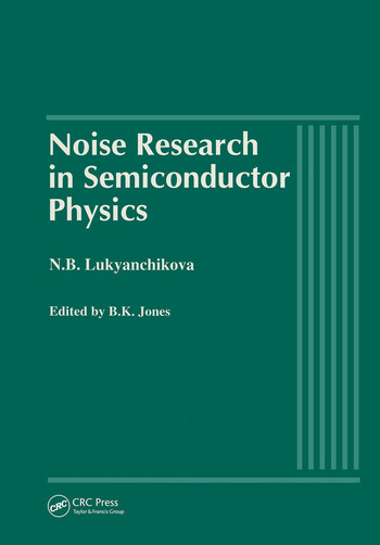 Noise Research in Semiconductor Physics book cover