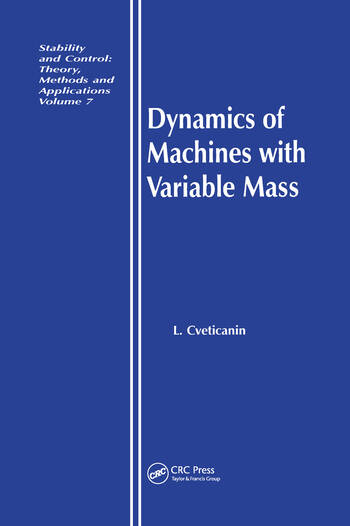 Dynamics of Machines with Variable Mass book cover