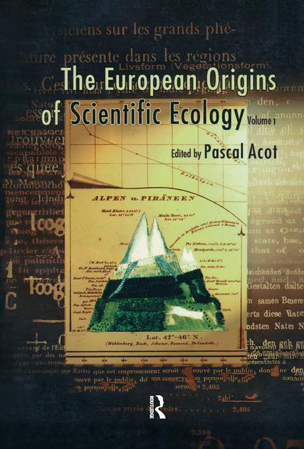 The European Origins of Scientific Ecology book cover