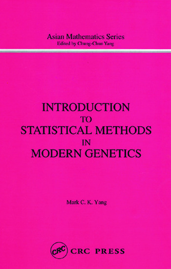 Introduction to Statistical Methods in Modern Genetics book cover