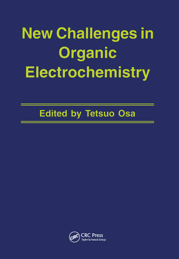 New Challenges in Organic Electrochemistry book cover