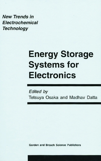 Energy Storage Systems in Electronics book cover