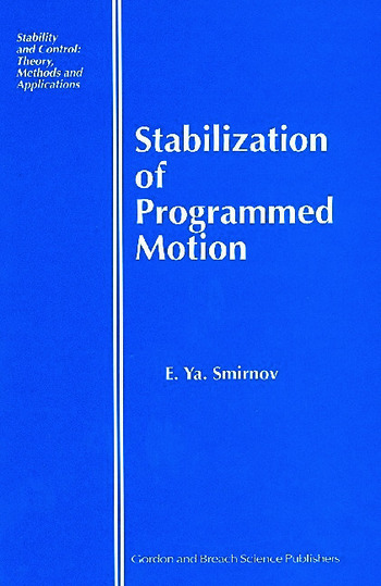 Stabilization of Programmed Motion book cover