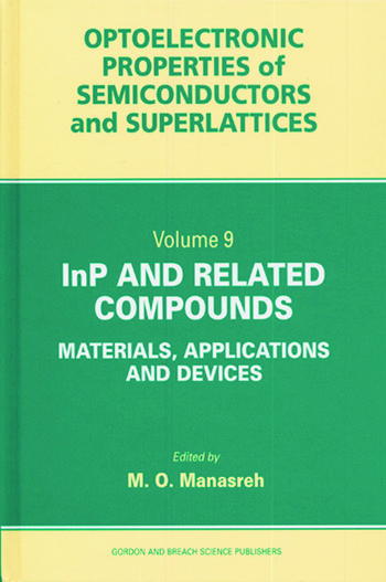 InP and Related Compounds Materials, Applications and Devices book cover