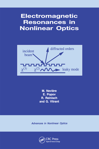 Electromagnetic Resonances in Nonlinear Optics book cover