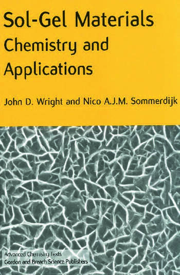 Sol-Gel Materials Chemistry and Applications book cover