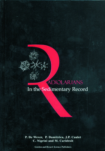 Radiolarians in the Sedimentary Record book cover