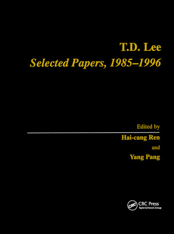 T.D. Lee Selected Papers 1985-1996 book cover