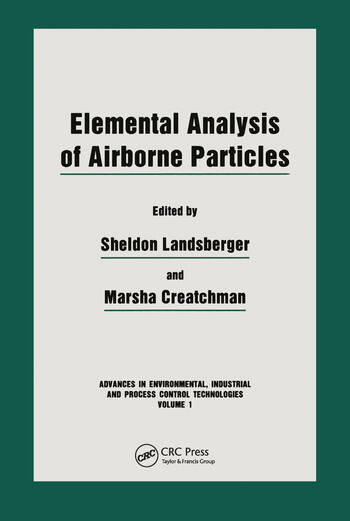 Elemental Analysis of Airborne Particles book cover