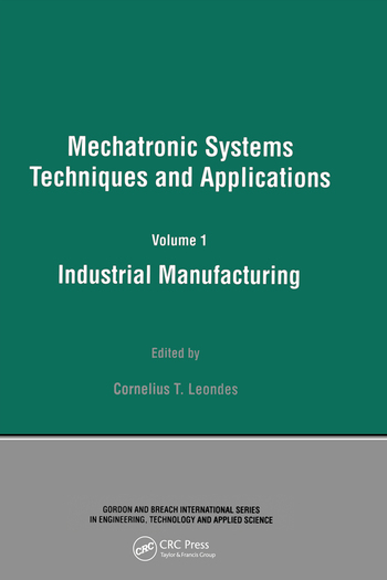Industrial Manufacturing book cover