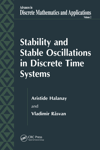 Stability and Stable Oscillations in Discrete Time Systems book cover