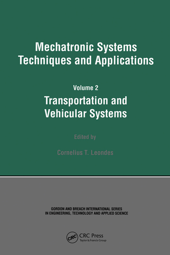 Mechatronic Systems Techniques and Applications book cover