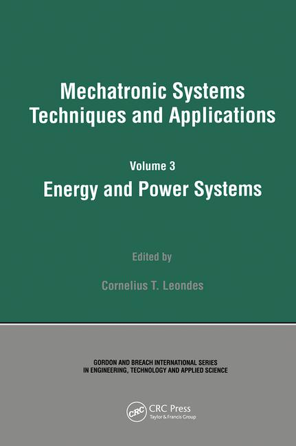 Energy and Power Systems book cover