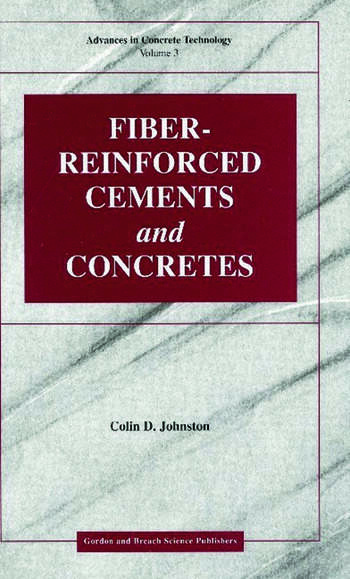 Fiber-Reinforced Cements and Concretes book cover