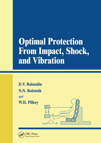 Optimal Protection from Impact, Shock and Vibration book cover