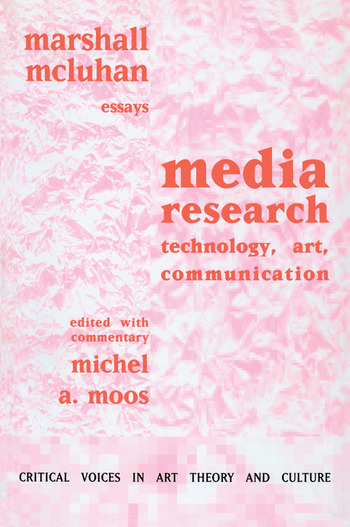 Media Research Technology, Art and Communication book cover