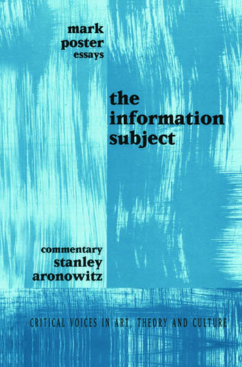 Information Subject book cover