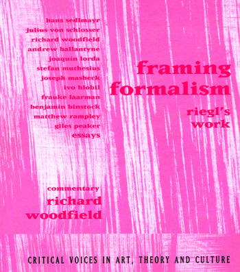 Framing Formalism Riegl's Work book cover