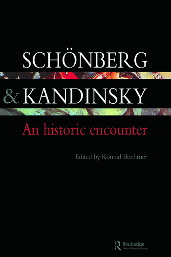 Schonberg and Kandinsky An Historic Encounter book cover