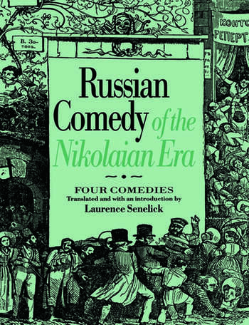 Russian Comedy of the Nikolaian Rea book cover