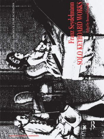 Solo Keyboard Works Franz Seydelmann book cover