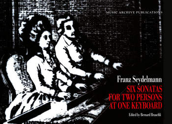 Six Sonatas for Two Persons at One Keyboard Franz Seydelmann book cover