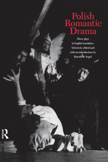 Polish Romantic Drama Three Plays in English Translation book cover