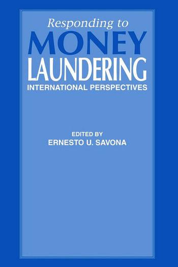 Responding to Money Laundering book cover