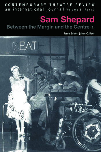 Sam Shepard V8 Pt 3 book cover