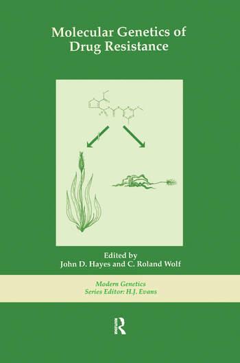Molecular Genetics of Drug Resistance book cover