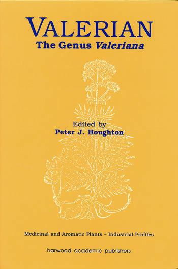 Valerian The Genus Valeriana book cover