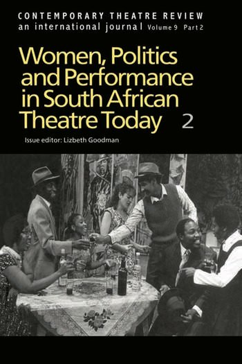 Women, Politics and Performance in South African Theatre Today Volume 2 book cover
