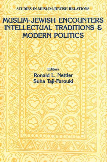 Muslim-Jewish Encounters book cover