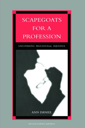 Scapegoats for a Profession book cover