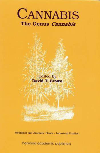 Cannabis The Genus Cannabis book cover
