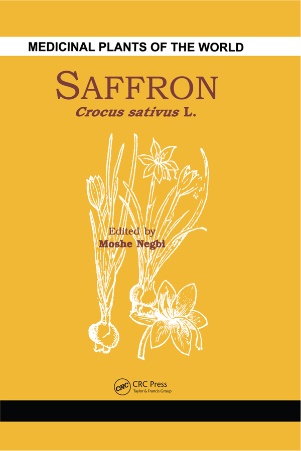 Saffron Crocus sativus L. book cover