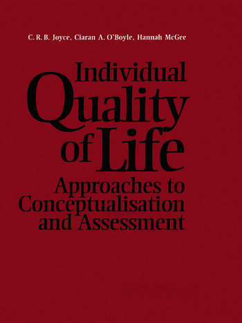 Individual Quality of Life book cover