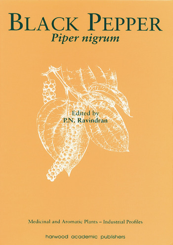 Black Pepper Piper nigrum book cover