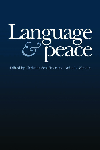 Language & Peace book cover