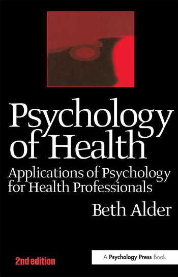 Psychology of Health 2nd Ed book cover