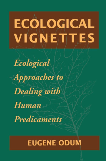Ecological Vignettes book cover