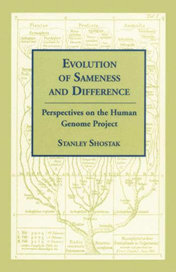 Evolution of Sameness and Difference book cover