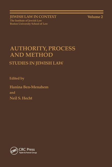 Authority, Process and Method book cover