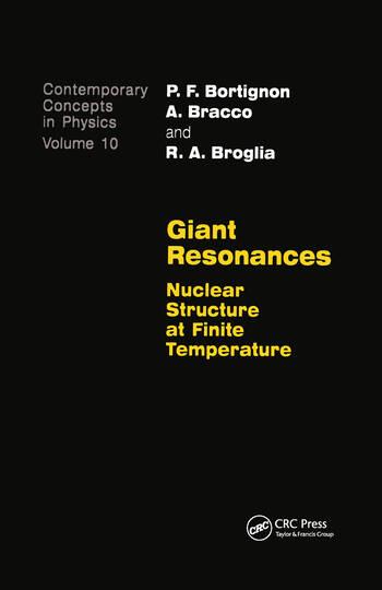 Giant Resonances book cover