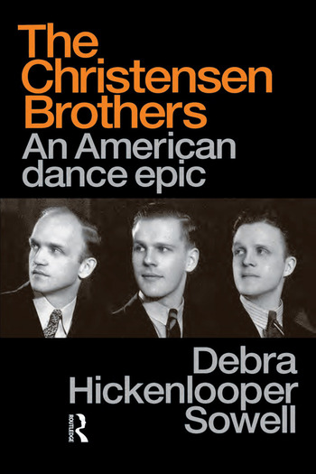 Christensen Brothers An American Dance Epic book cover
