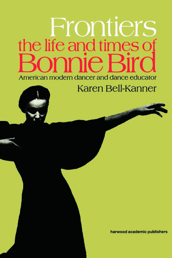 Frontiers American Modern Dancer and Dance Educator book cover