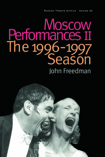 Moscow Performances II The 1996-1997 Season book cover